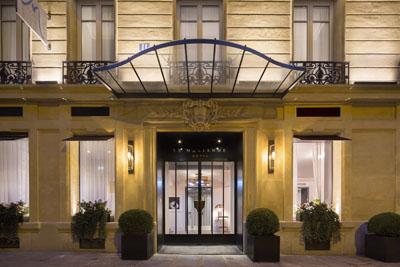 Paris les nouveaux codes de l 39 h tellerie de luxe for Designhotel elsass