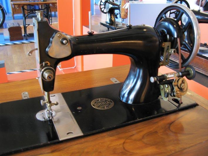 Exposition manufrance saint etienne une histoire for Machine a coudre omnia