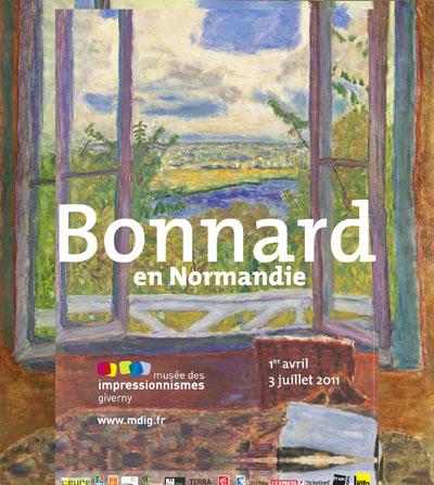 Bonnard en normandie au mus e des impressionnismes de for Pierre bonnard la fenetre ouverte