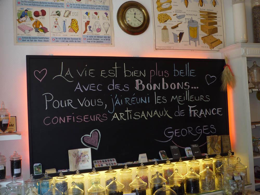 Le bonbon au palais paris des bonbons traditionnels - Magasin reproduction tableau paris ...