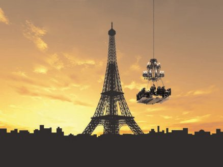 Paris,Dinner in the sky,Cuisine créative